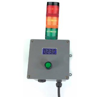 DIGITAL  TIMER with triple stack light
