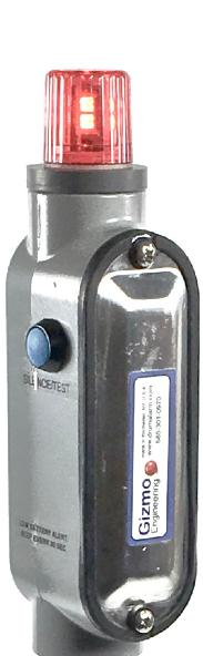 INTRINSICALLY SAFE TANK ALARM