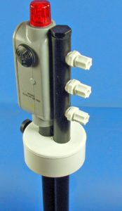 Drum alarm manifold