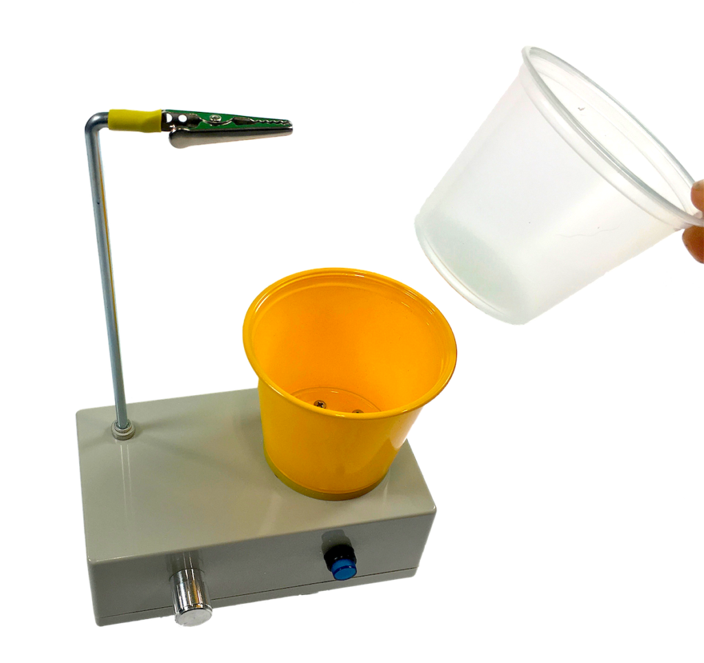 Benchtop resin mixing machine