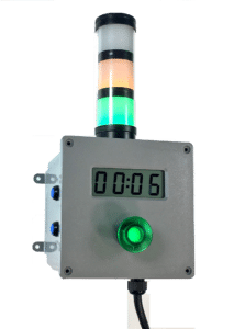 Factory timer with triple stack light