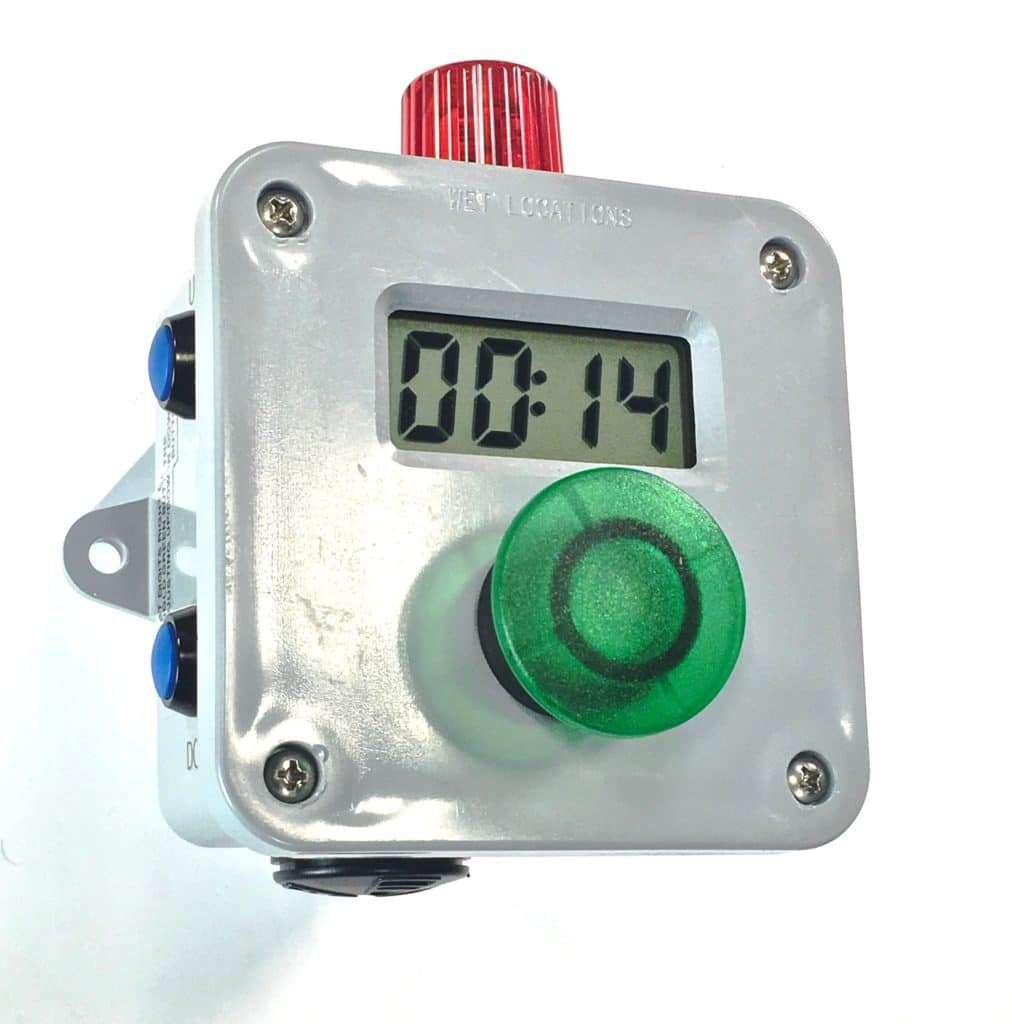 Digital timer for Production Pacing