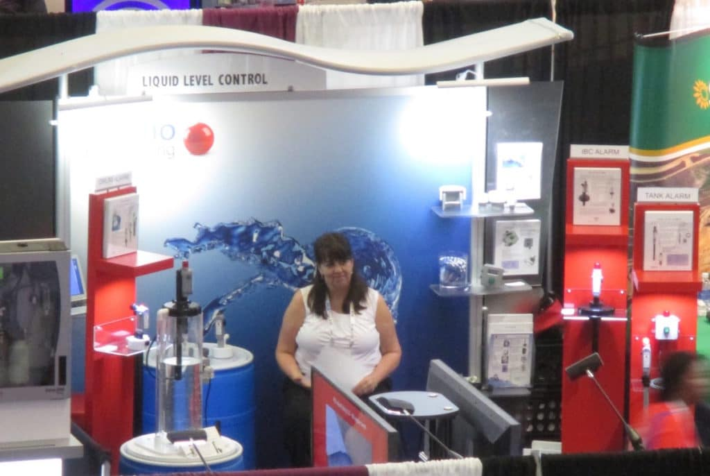 Gizmo Engineering Trade show booth