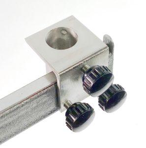 Rim Mount Bracket - stainless steel