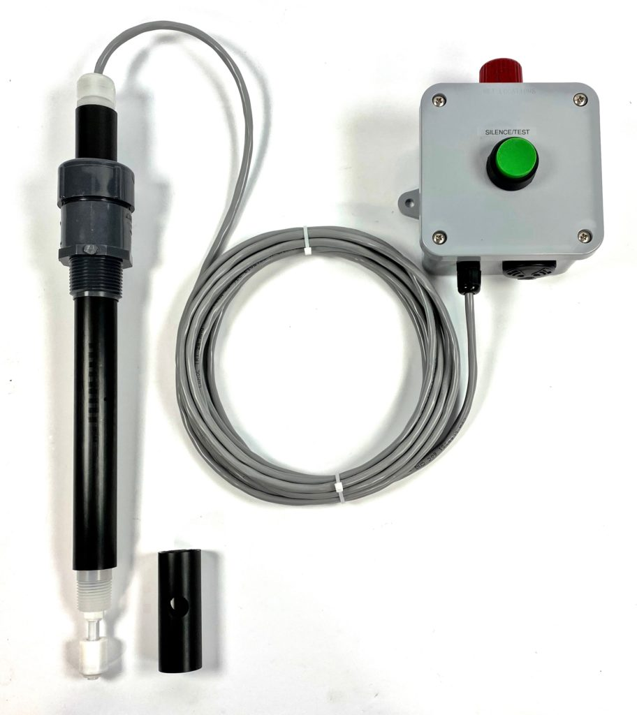 Level Probe with alarm box