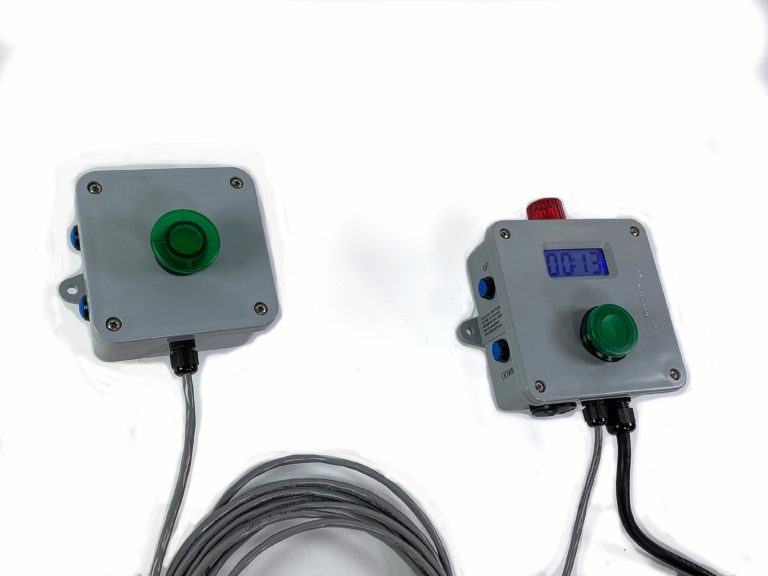 Plating Tank Timer with remote button