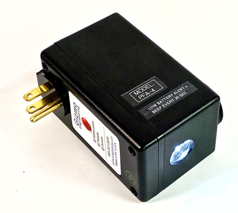 Power Failure alarm with flash-light