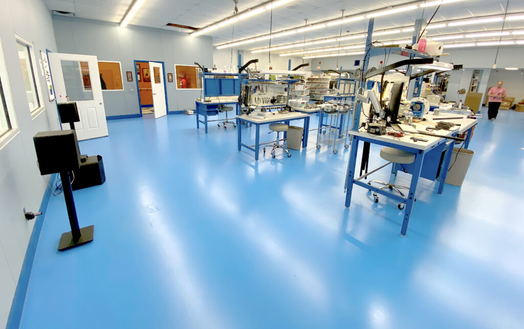 Gizmo Engineering production floor